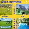 太阳能花园喷泉水泵3寸不锈钢深井水泵螺杆泵