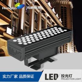 方形48W结构防水LED投光灯