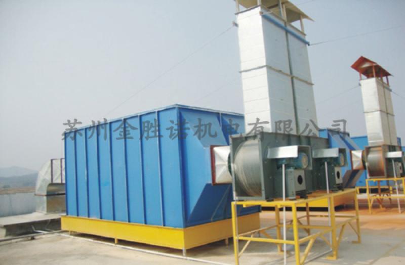 废气处理设备吸附塔 玻璃钢酸雾吸附塔