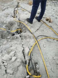 开石设备矿山开采代替放炮岩石破裂机开石头机器