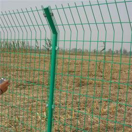 双边丝圈地护栏网,浸塑双边丝护栏网,现货双边护栏