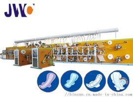 工厂直供女性卫生巾机器,全伺服卫生巾设备