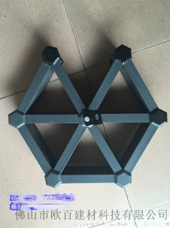 室内三角形铝格栅吊顶专业定制厂家