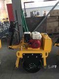浩鴻手扶小型單輪壓路機回填土震動壓實路面廠家直銷