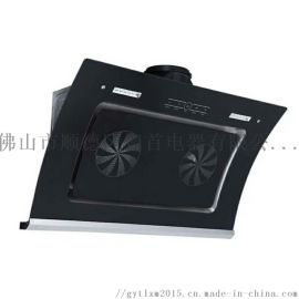 广东出货双电机烟机 家用侧吸式大风力油烟机一件起批