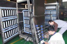 昌吉市城北污水处理厂框架式明渠式紫外线消毒模块设备