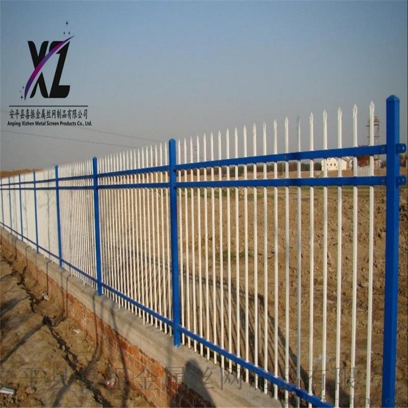 防护围墙护栏,工业锌钢护栏,锌钢护栏生产供应