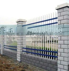PVC塑钢草坪护栏 小区别墅围墙围栏 白色幼儿园**栅栏 可定做