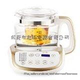 宏惠HONVY智能养生壶加厚玻璃2L全自动烧水壶多功电热水壶保温煮花茶器煎药壶电水壶V6