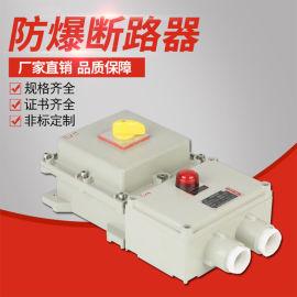 防爆断路器BDZ52-10A25A防爆空气开关
