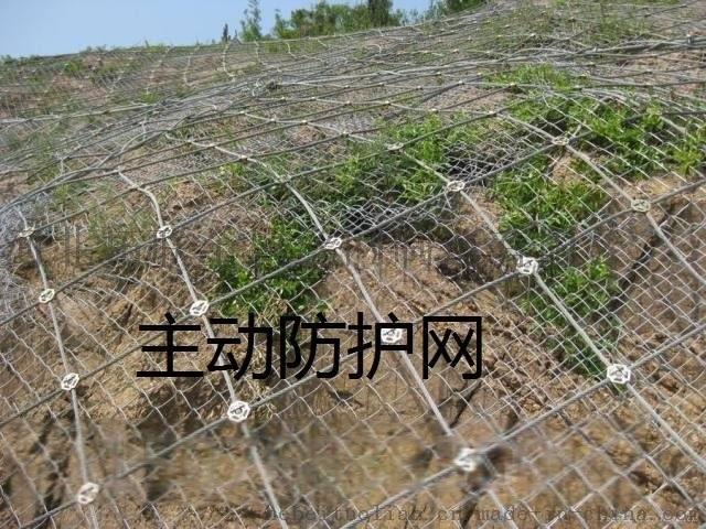 被动拦石网价格钢丝绳护山网厂家护山网直销