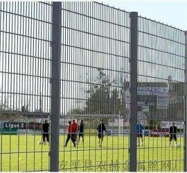 双赫专业生产绿色铁丝网球场护栏网