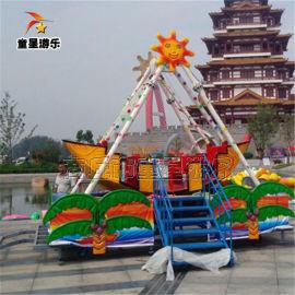 商丘童星游乐设备 迷你海盗船游乐园游乐设备用户满意