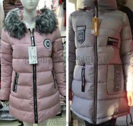 女裝棉衣庫存尾貨韓版羽絨服棉衣外套清貨低價清