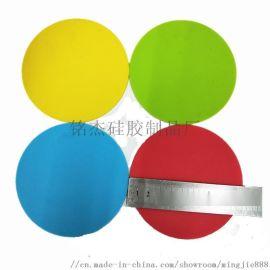 圆形硅胶水杯垫 硅胶杯子隔热防滑垫食用级硅胶材料
