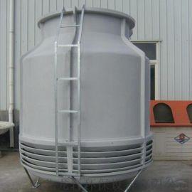 圆形玻璃钢冷却塔 逆流式高温玻璃钢冷却塔 厂家直销