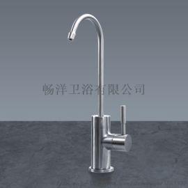 304不锈钢 厨房饮水机龙头 精铸菜盆拉丝厂家