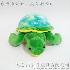 可愛毛絨玩具海龜布藝娃娃可來圖打樣設計