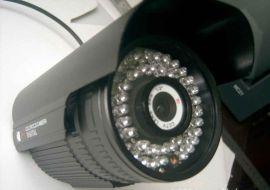 监控红外防水摄像机 420线