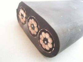 钢丝加强型扁电缆(YFFBJ)