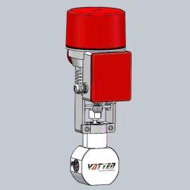 德国VATTEND671X-10\16上海生产厂家中德合资浓水调节阀/高压电动调节阀/VATTEN