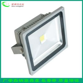厂家供应LED投光灯70W防水户外室外灯 泛光灯广告招聘投射灯批发