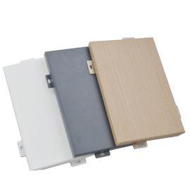 木纹铝单板厂家定制铝单板规格300X400