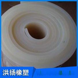 洪扬厂家供应硅胶板 耐高温白色胶板  硅胶垫片 厂家现货批发