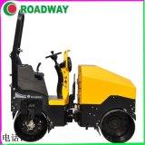 ROADWAY壓路機RWYL52C小型駕駛式手扶式壓路機廠家供應液壓光輪振動壓路機價格南陽市