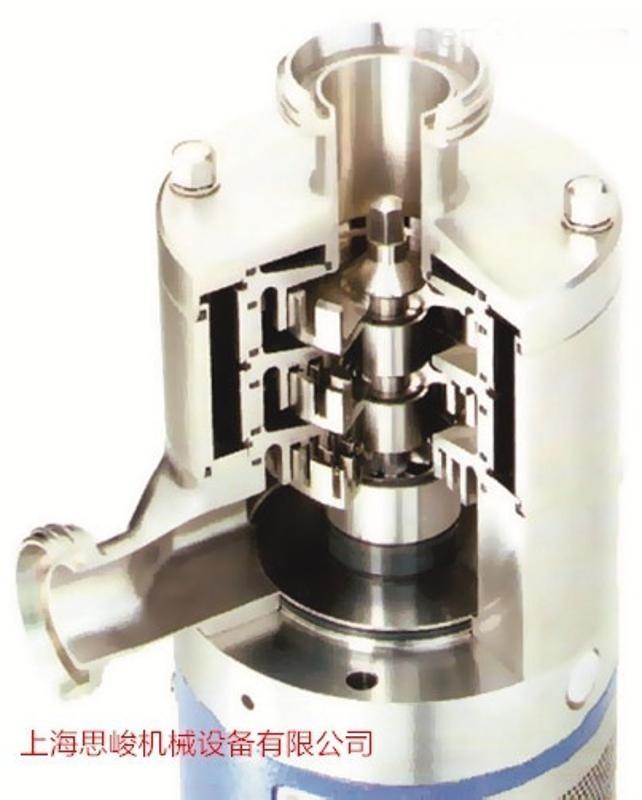专业纳米乳化设备 SGN/思峻 GRS2000管线式果茶饮料均质机