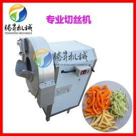 自动切丝机 厨房萝卜切丝切片机 酒店切姜丝机