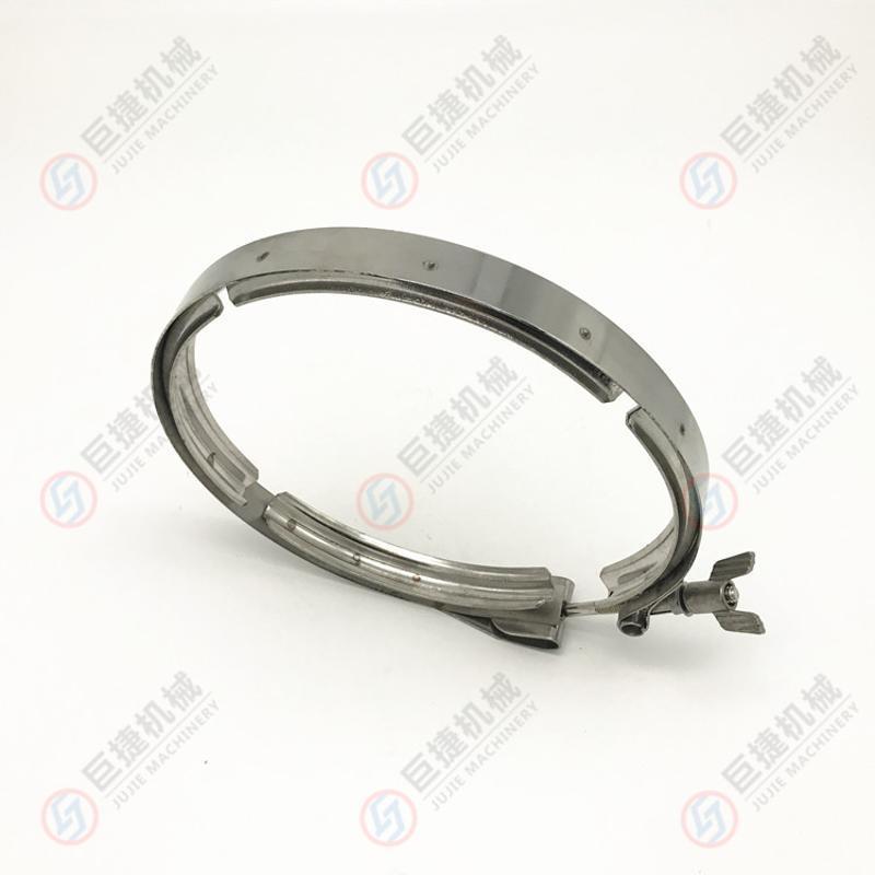 廠家直銷不鏽鋼V槽卡箍 衝壓V槽卡箍 304 不鏽鋼雙備卡箍價格