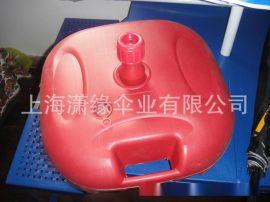 广告大伞底座 注水式户外大伞固定座 塑胶材质 水墩 专配沙滩伞
