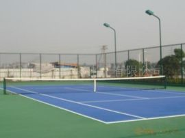 网球场颗粒 拓荒聚脲喷涂弹性体
