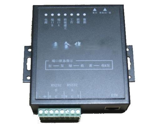 兩口RS232串口伺服器 C232-2