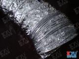 耐热铝箔风管,高温通风管,铝箔高温排风管