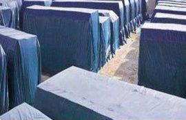 供应佛山通拓防水帆布厂家定制防寒保暖篷布用品