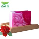 玫瑰美白幻彩手工皂,