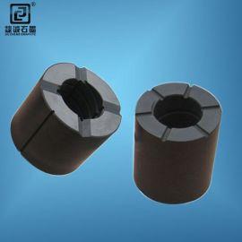 东莞润滑石墨轴承 高纯石墨轴承 石墨导向套轴承