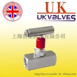 进口针型阀 进口英国UK高压针型阀  英国进口UK 针型阀