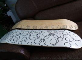 信拓水贴滑板 定制水转印烫金贴纸印刷加工花纸
