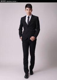职业装定制 修身西服 衬衣定做 办公制服韩版 广州一格