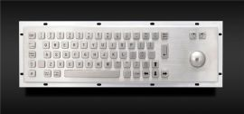 299B金属PC键盘(带轨迹球)自助终端机键盘