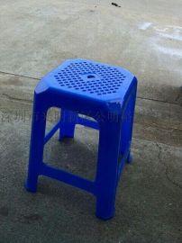 加厚塑料凳子 44高PE塑料凳子