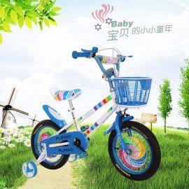 **儿童自行车 新款男女孩童车12 14 18寸2-8岁单车小学生山地车