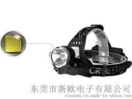 18650充电式工矿灯强光头灯 T6/U2 10W户外登山狩猎远射头灯批发