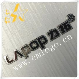 廠家直銷 電鑄鍵盤標牌 超薄分體銘牌 純鎳logo標貼