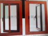 定製賽福緹55斷橋內置隱紗平開窗