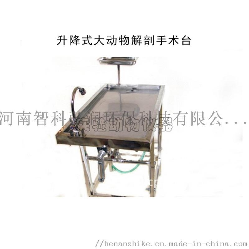 可升降大動物解剖臺/猴子解剖臺