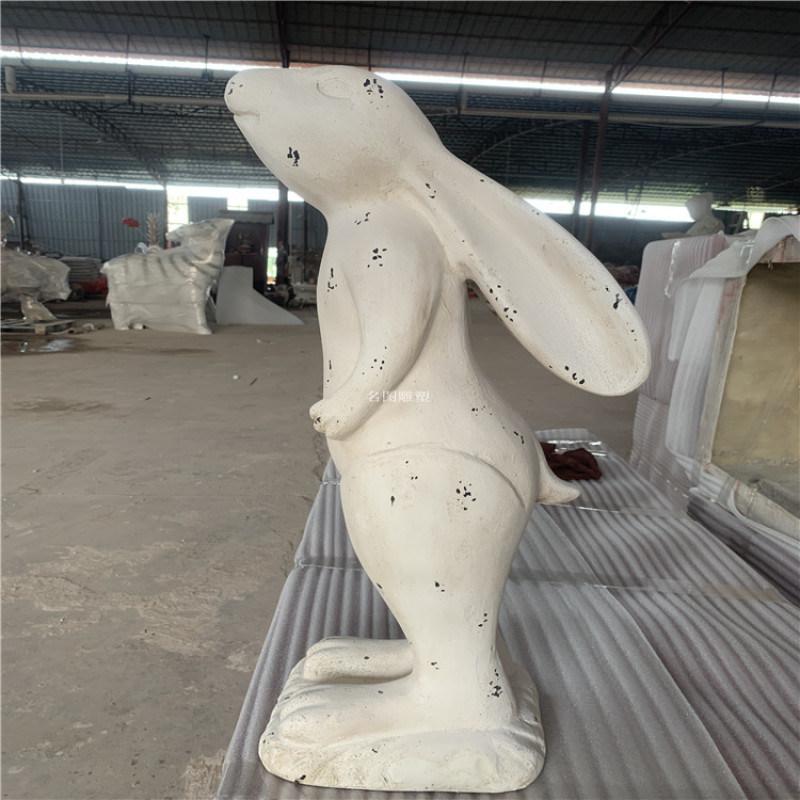 潮州玻璃鋼動物雕塑 公園動物雕塑方法步驟